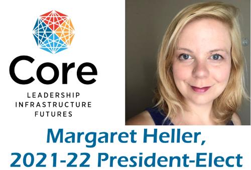 Margaret Heller Elected 2021-22 Core President-elect