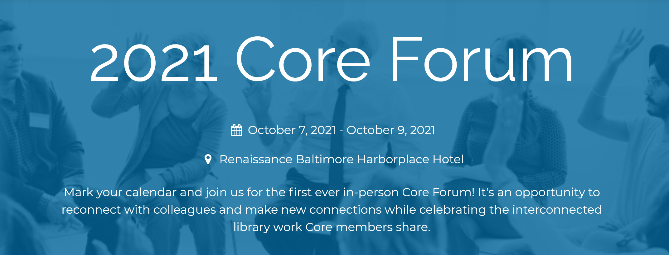 Save the Date: 2021 Core Forum